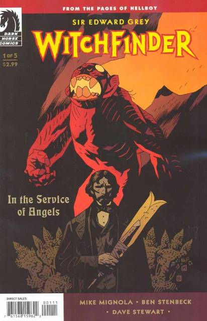 Sir Edward Grey, Witchfinder: In the Service of Angels