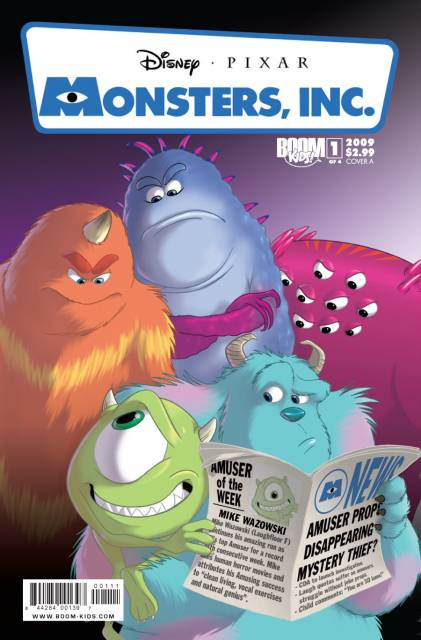 Monsters, Inc.: Laugh Factory