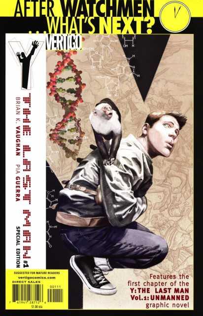 Y: The Last Man #1 Special Edition