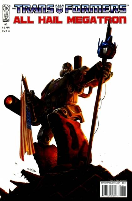 The Transformers: All Hail Megatron
