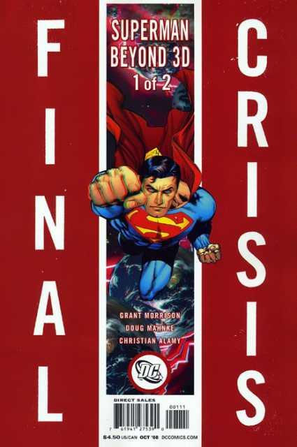 Final Crisis: Superman Beyond 3D