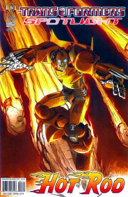 Transformers Spotlight: Hot Rod