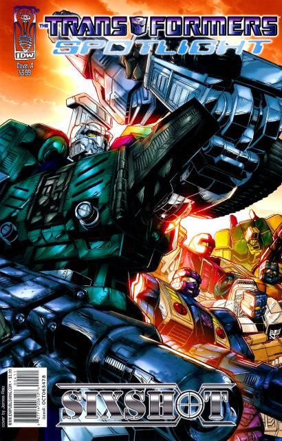 Transformers Spotlight: Sixshot