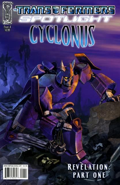 Transformers Spotlight: Cyclonus