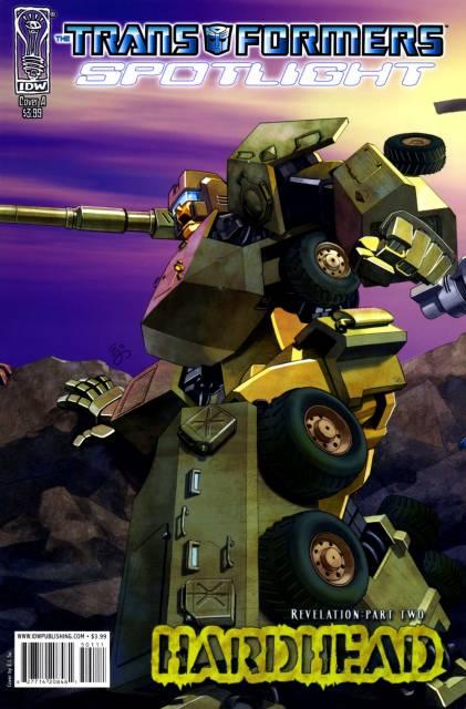 Transformers Spotlight: Hardhead