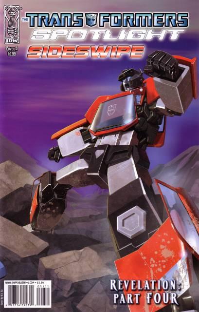 Transformers Spotlight: Sideswipe