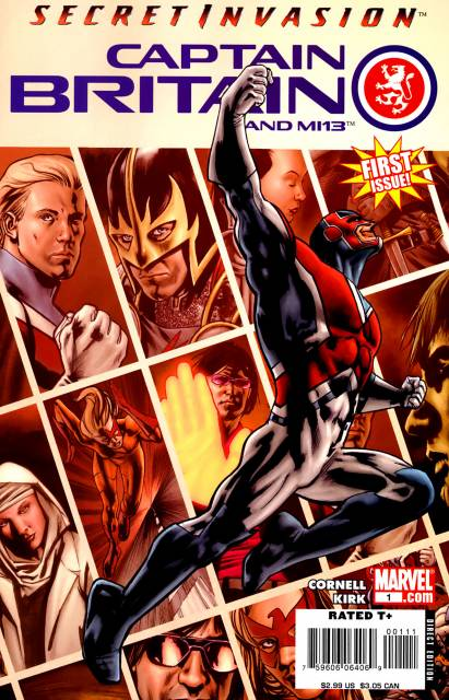 Captain Britain and MI:13