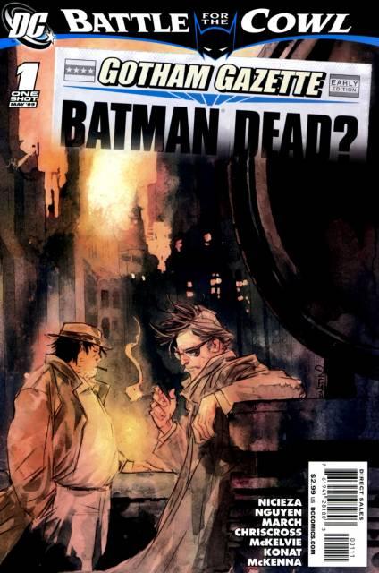 Gotham Gazette: Batman Dead?