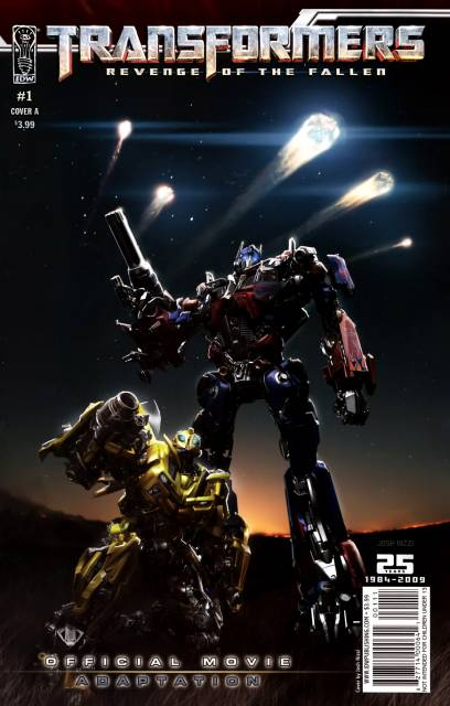 Transformers: Revenge of the Fallen - Official Movie Adaptation