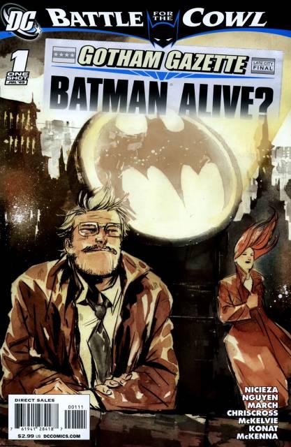 Gotham Gazette: Batman Alive?
