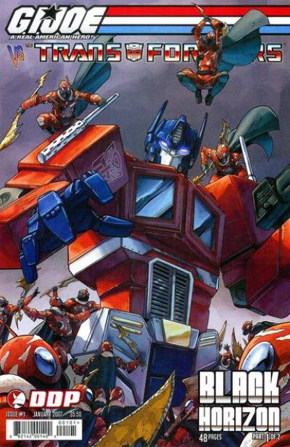 G.I. Joe vs. The Transformers, Vol IV: Black Horizon
