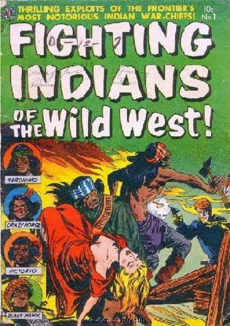 Fighting Indians of the Wild West