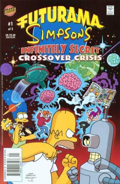 Futurama - Simpsons Infinitely Secret Crossover Crisis