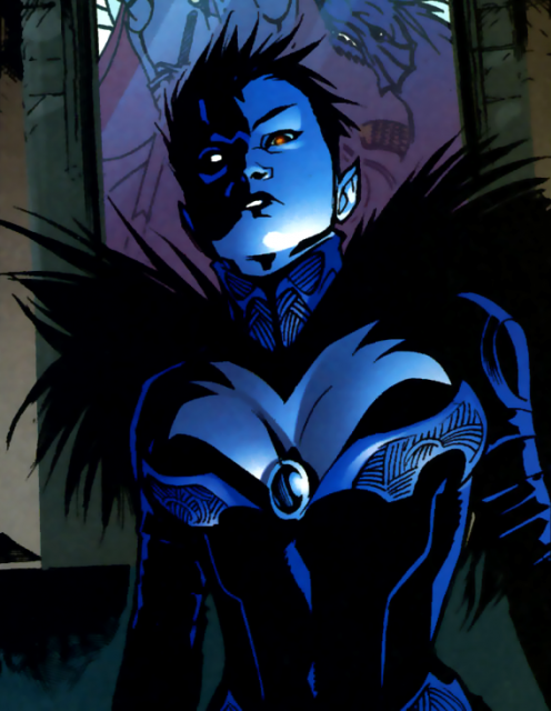 Jean possessed by Eclipso