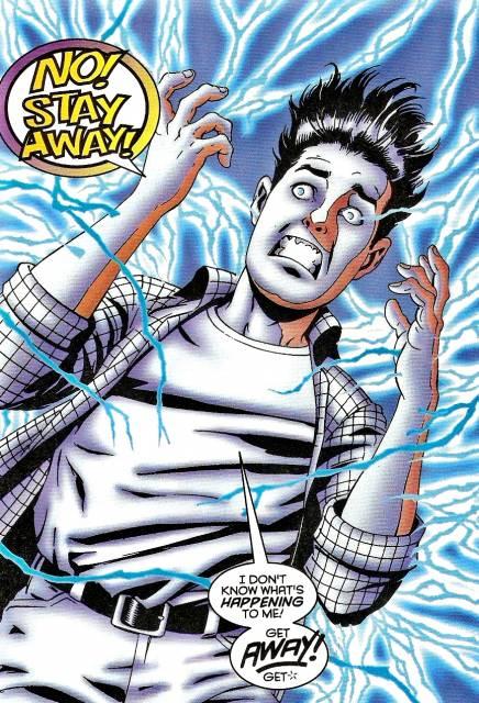 Manifestation of his Mutant Powers