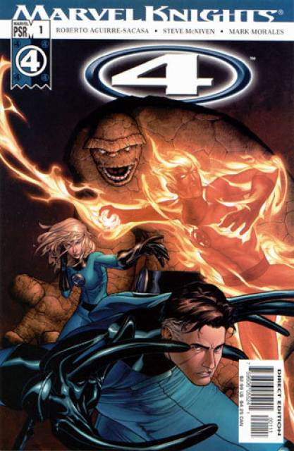 Roberto Aguirre-Sacasa's Marvel Knights:4 greatly prompted his comics career.