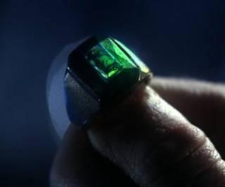 Kryptonite ring worn by Lex Luthor