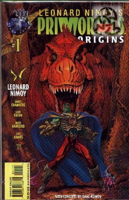 Leonard Nimoy's Primortals: Origins