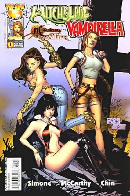 Witchblade / Vampirella / The Magdalena / Lara Croft Tomb Raider