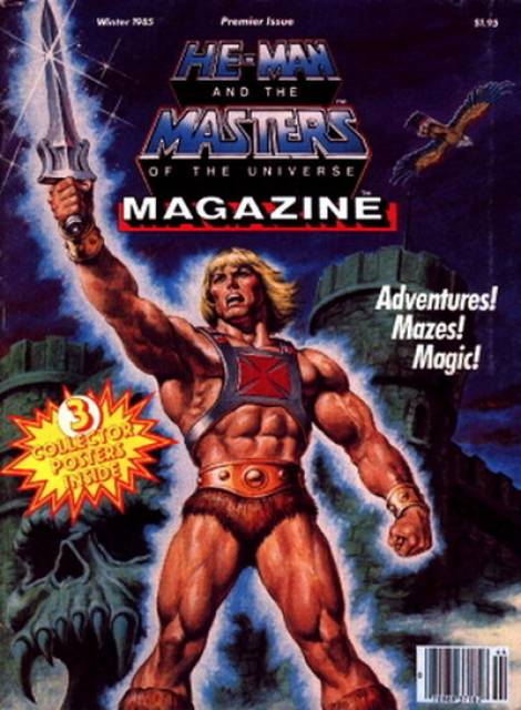 He-Man and the Masters of the Universe Magazine
