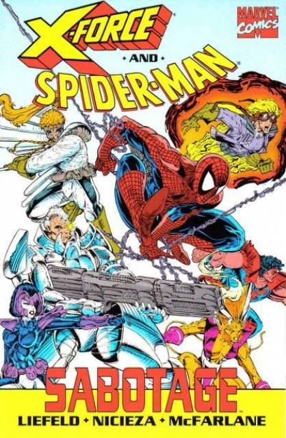 X-Force and Spider-Man