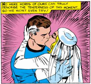 FF Annual 3 - Sue & Reed are married