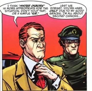 Norman Osborn's driver