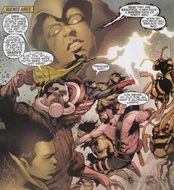 VS. The Mighty Avengers