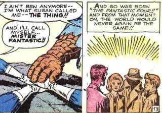 The Birth of the Fantastic Four