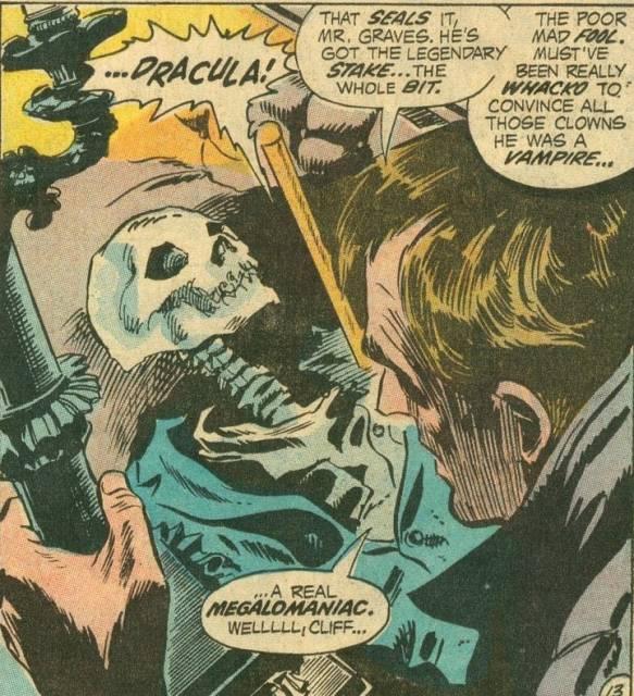 Clifton Graves awakening Dracula