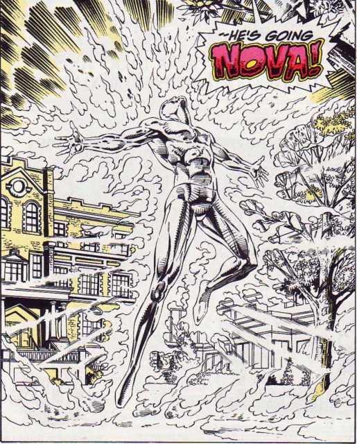Johnny goes Super-Nova
