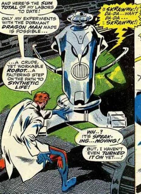 The Birth of Ultron.