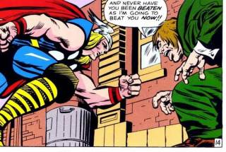 Hyde and Thor first collide