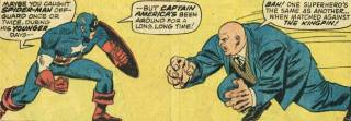 Kingpin would be unaware that he was manipulated into fighting Captain America