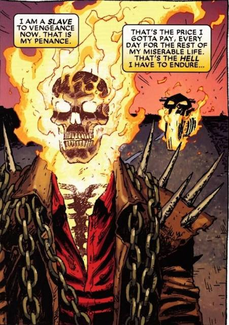 Dan is forced to be Ghost Rider once more