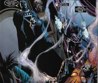 The Death of Hawkman & Hawkgirl