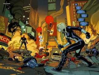 Mockingbird with the fallen Avengers