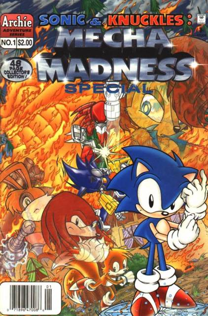 Sonic & Knuckles: Mecha Madness
