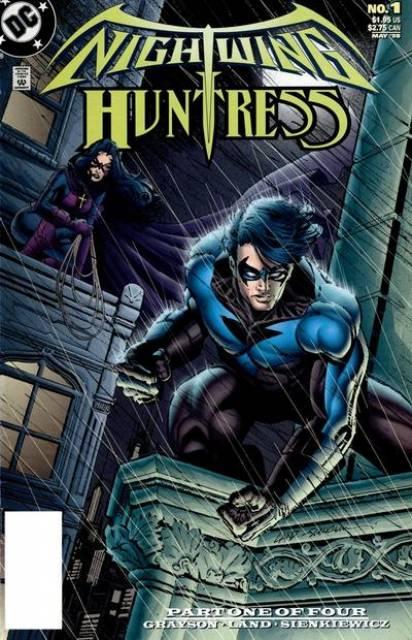 Nightwing and Huntress