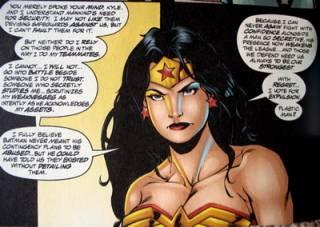 Wonder Woman's vote