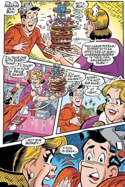 Jughead's obsession with hamburgers nearly spells his doom