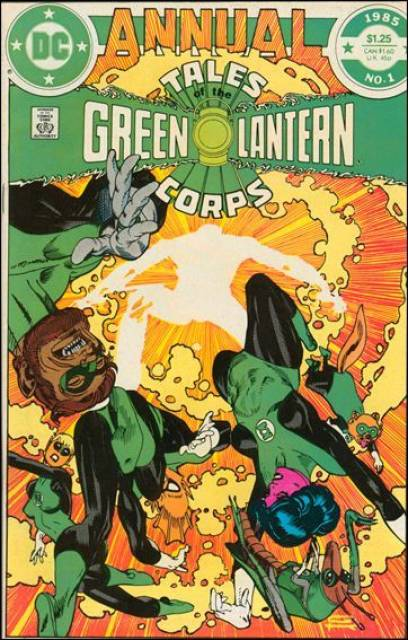 Tales of the Green Lantern Corps Annual