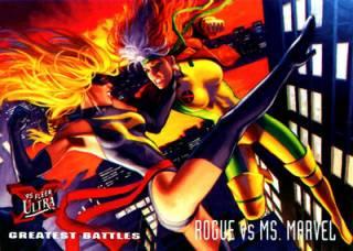 Ms. Marvel vs. Rogue