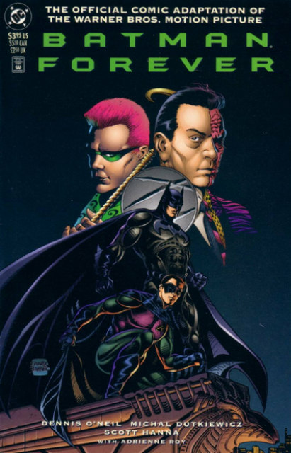 Batman Forever: The Official Adaptation of the Warner Bros. Motion Picture