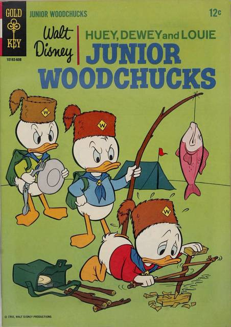 Huey, Dewey and Louie Junior Woodchucks