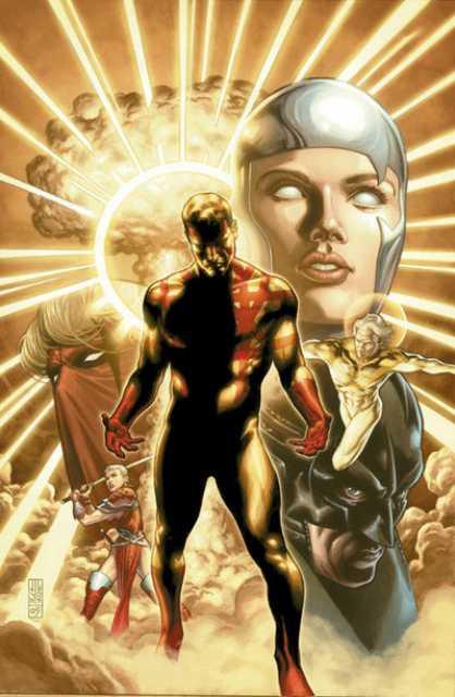 Captain Atom in The Wildstorm