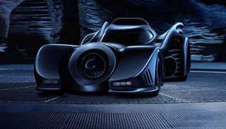 The Batmobile of the Tim Burton movies