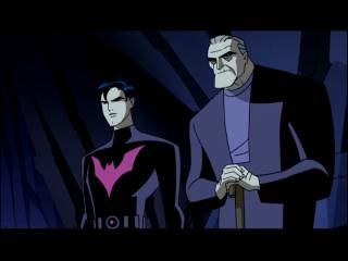 An old Bruce with Terry McGinnis