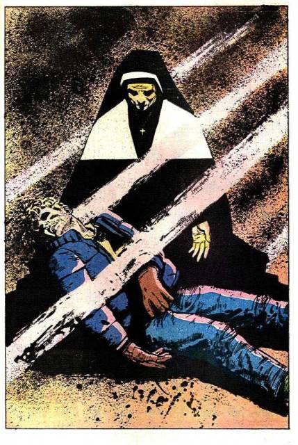 Mother Murdock saves Matt