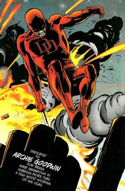 Daredevil dodges an explosion